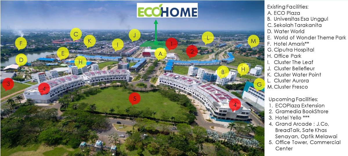 Sekitar EcoHome CitraRaya