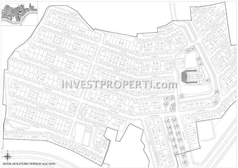 Site Plan Alicante Village