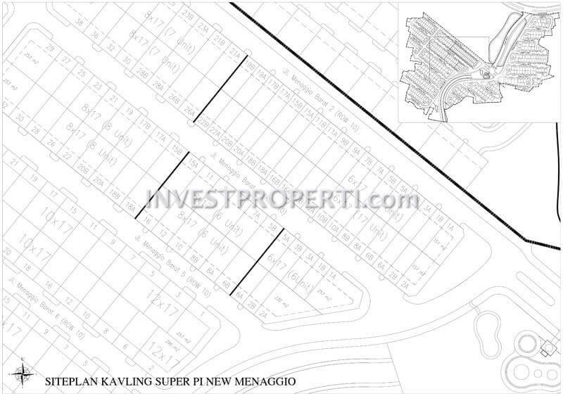 Site Plan Menaggio Village