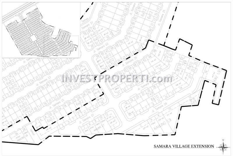 Site Plan Samara Village
