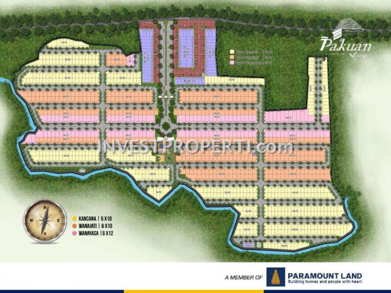 Siteplan Rumah Pakuan Village