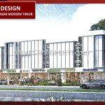 Desain Ruko Pasar Modern Timur BSD