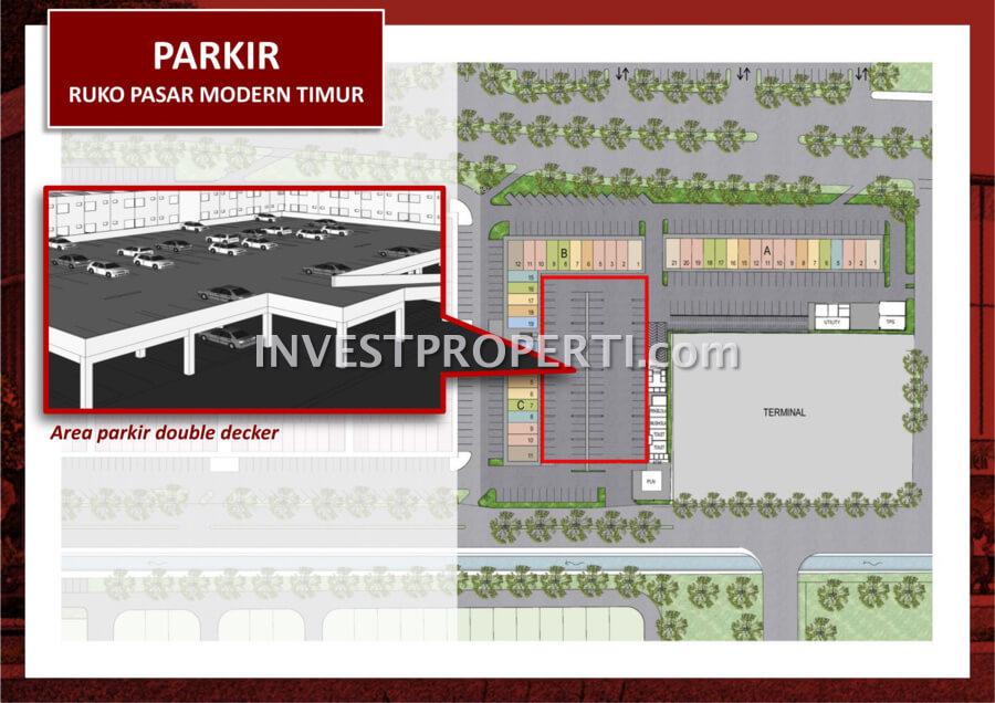 Peta Lokasi Ruko Pasar Modern Timur BSD
