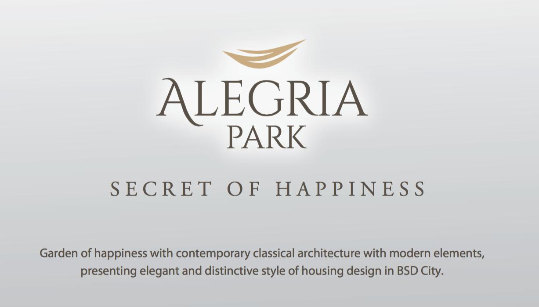 Cluster Alegria Park BSD