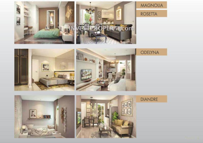 Interior Design Rumah Alegria Park BSD