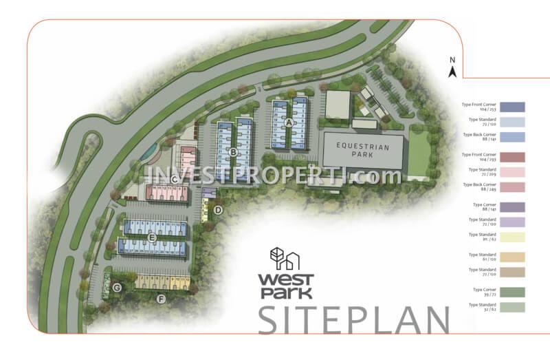 WestPark ShopHouse BSD Site Plan