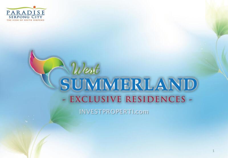 Brochure West Summerland Paradise Serpong City