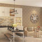 Contoh Design Rumah ParkVille Serpong Dapur
