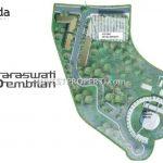 Site Plan Ruko Saraswati 9
