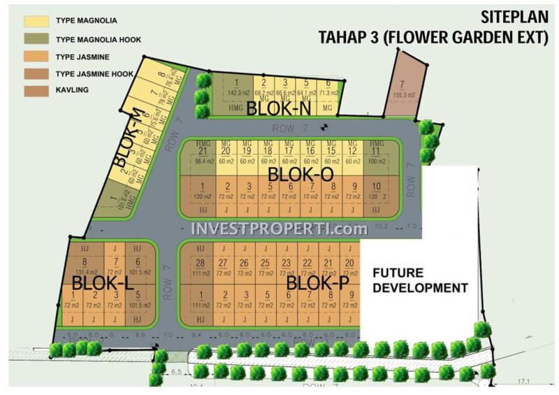 Blok Plan Golden Park 2 Ext Serpong