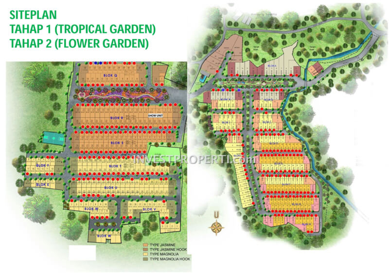 Site Plan Golden Park 2 Serpong