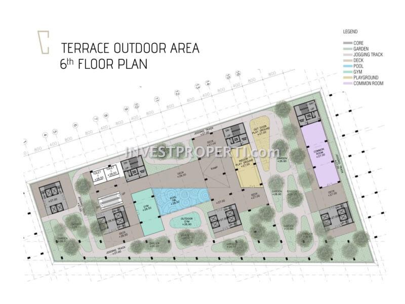 Carstensz Residence BSD Floor Plan