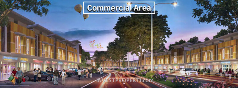 Commercial Area Cluster Villaggio