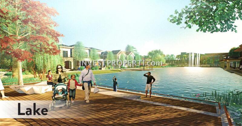 Lavon Swan City Cikupa Tangerang Lake