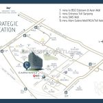 Peta Lokasi Carstensz Residence BSD