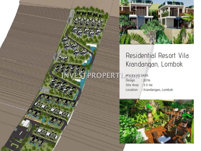 Residential Resort Villa Krandangan Lombok