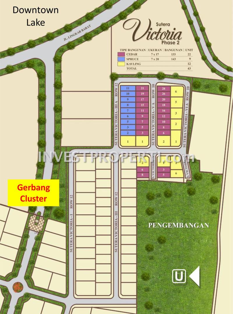 Site Plan Sutera Victoria Tahap 2