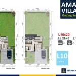 Amalfi Village Gading Serpong L10 Denah