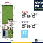 Denah Amalfi Village Option 1
