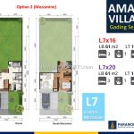 Denah Amalfi Village Option 2