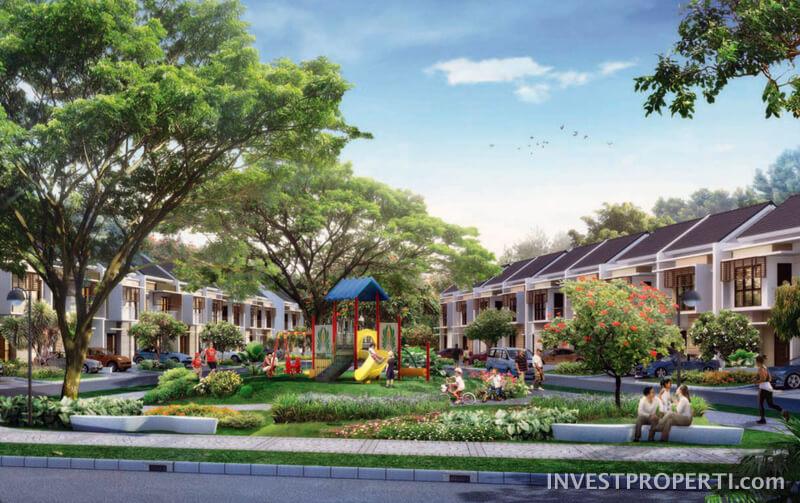 PlayGround Cluster Burgundy Summarecon Bekasi