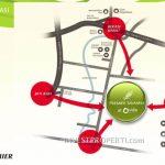 peta lokasi premier savanna vida bekasi