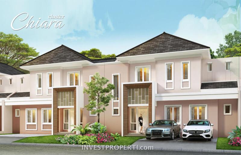 rumah cluster Chiara Suvarna Sutera Dijual