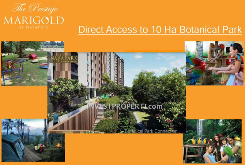Akses lansung ke Botanical Park BSD