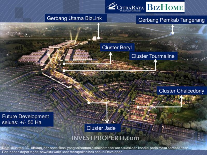 Cluster Rumah BizHome CitraRaya