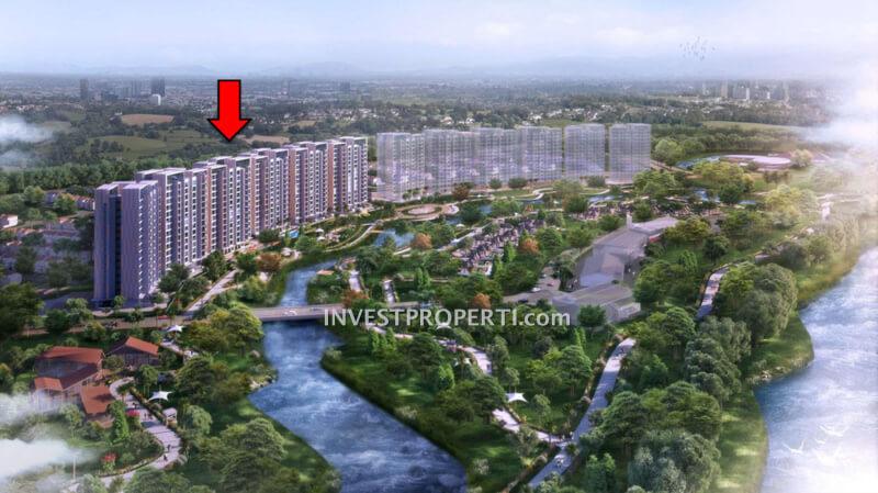 Condominium Marigold NavaPark BSD Tower 3