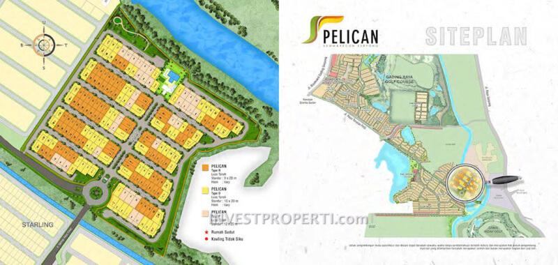 Lokasi Cluster Pelican