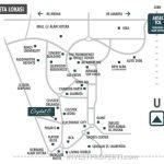 Peta lokasi ruko Crystal 8 Alam Sutera