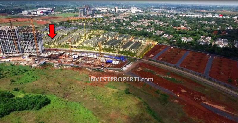 Progress Pembangunan Marigold Navapark BSD