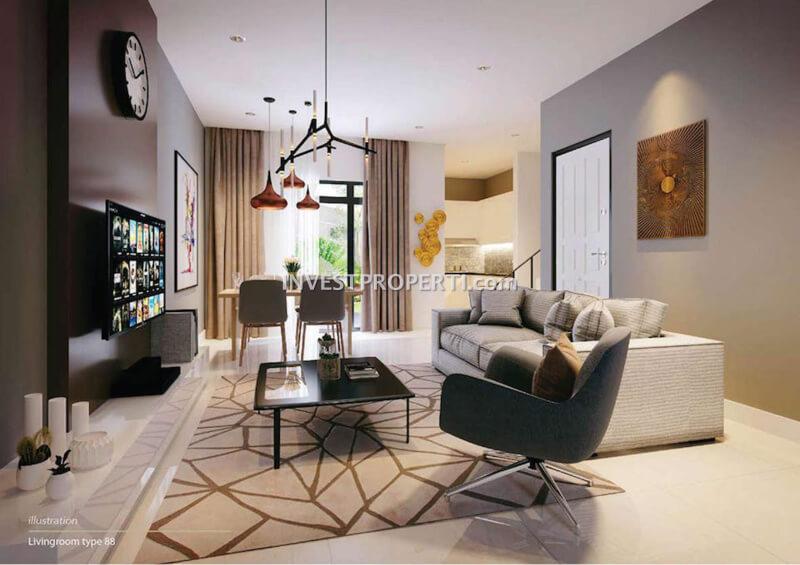 Contoh Design Living Room Avezza The Mozia L7