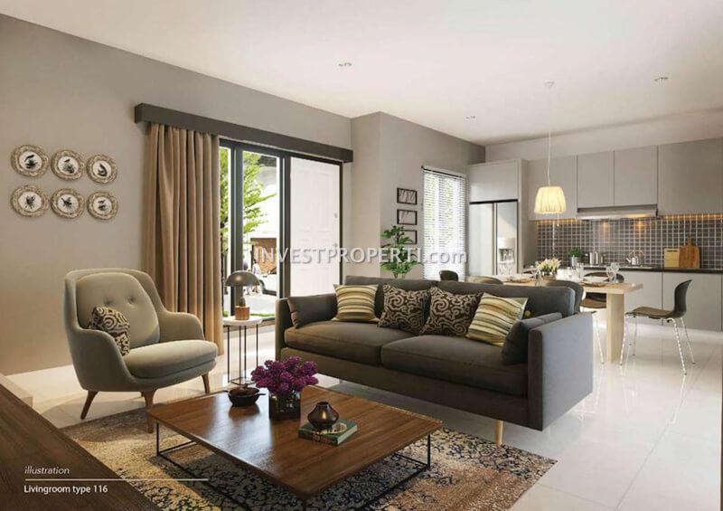 Contoh Design Rumah Avezza The Mozia L8 (Livingroom)