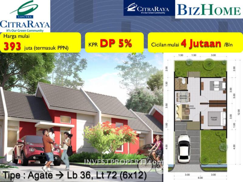 Rumah BizHome Tipe Agate