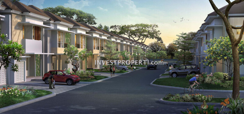 Rumah Cluster Goldfinch Gading Serpong
