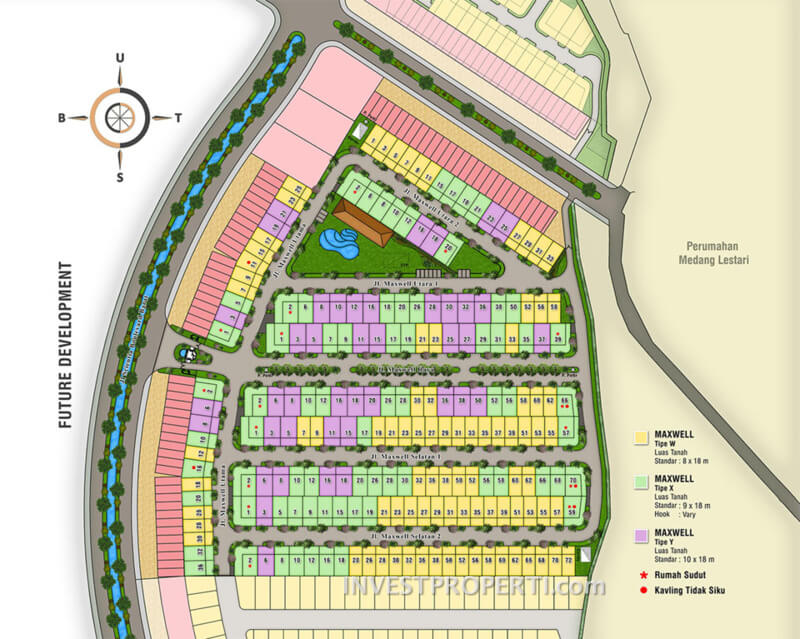 Site Plan Cluster Maxwell