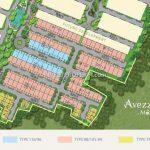 Site Plan Cluster Avezza The Mozia