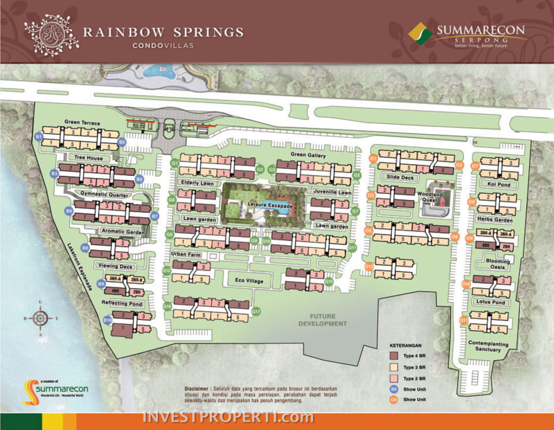 Site Plan Rainbow Springs CondoVillas