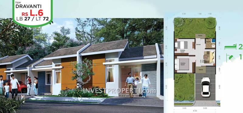 Rumah RS Tipe Dravanti
