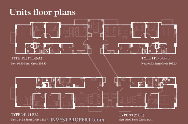 Unit Floor Plan Rainbow Spring CondoVillas