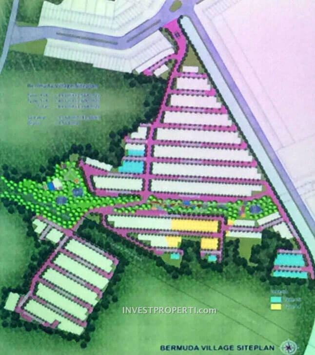 Site Plan Bermuda Village Paramount Land