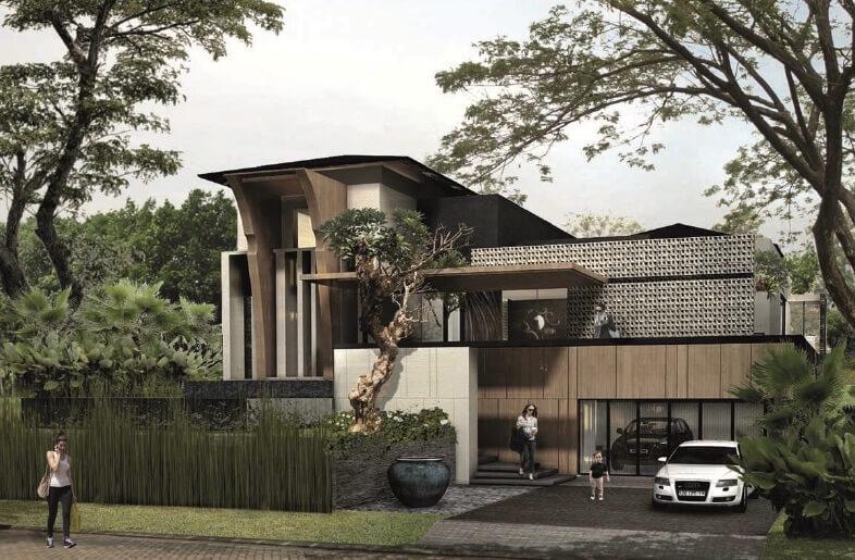 Rumah de Brassia @ de Park BSD