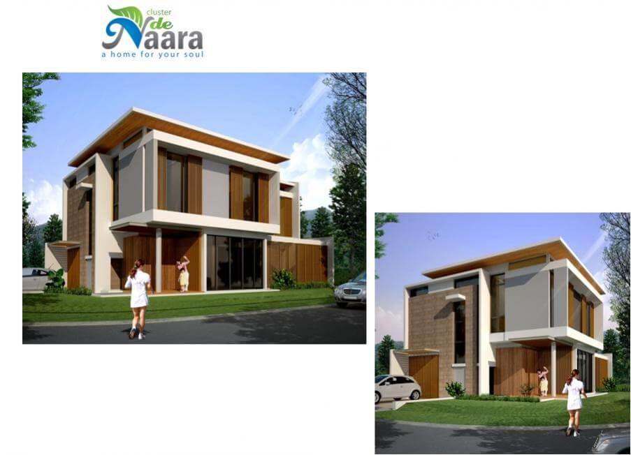 Rumah Cluster de Naara BSD