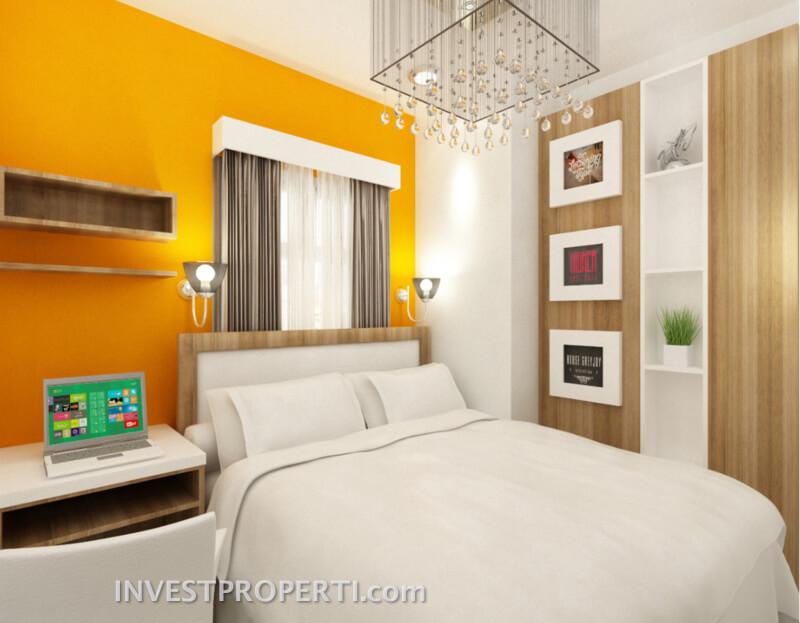 Contoh Design Apartemen Dramaga Bogor Tipe 2 BR