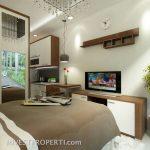 Contoh Design Dramaga Apartemen Tipe Studio