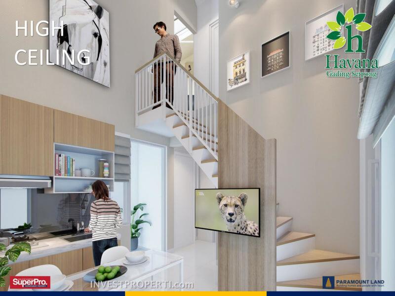 Contoh Interior Design Rumah Havana Paramount Land