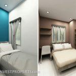 interior Design Apartemen Dramaga Bogor Tipe 2 BR