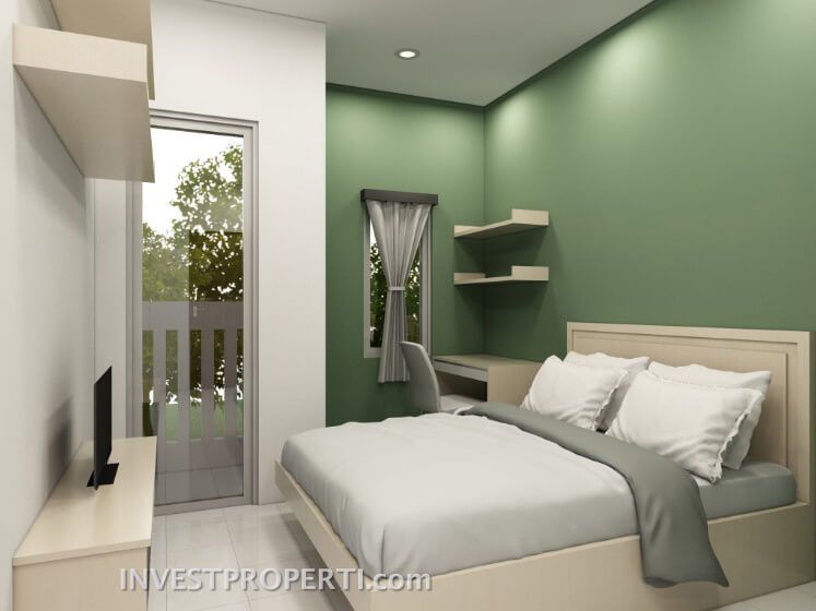 Interior Design Dramaga Apartment Tipe Studio